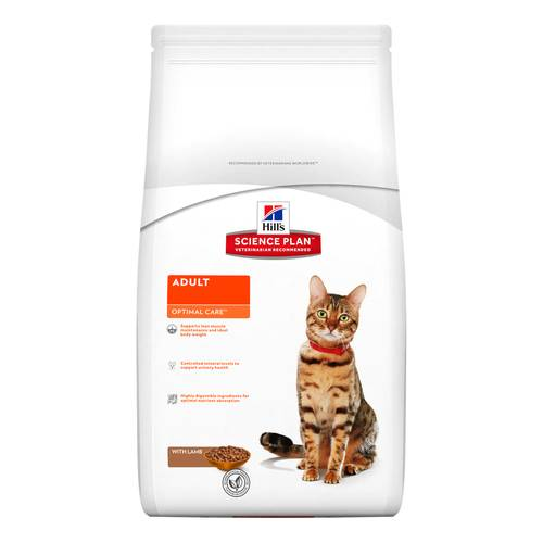 SCIENCEPLAN GATTO ADULTO OPTIMALCARE LAMB 2kg