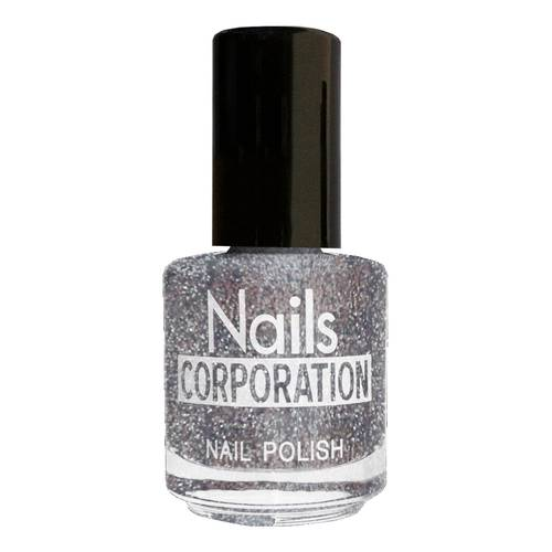 SMALTO GLITTER SILVER 15ML