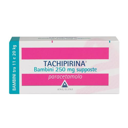 TACHIPIRINA Bambini 250 mg 10 supposte