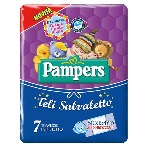 TRAVERSA SALVA LETTO PAMPERS7P