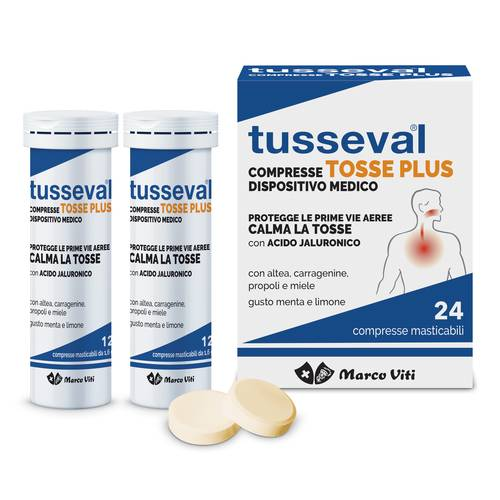 TUSSEVAL TOSSE PLUS 24CPR
