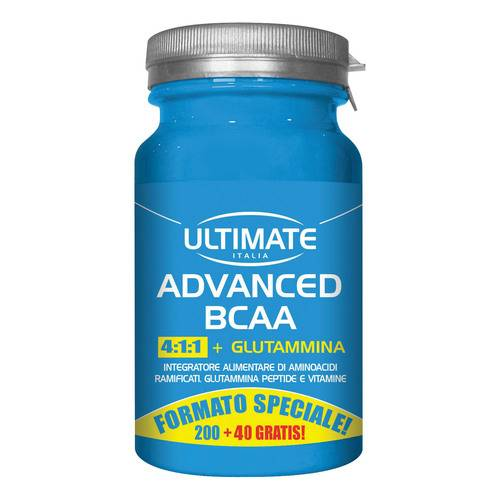 ULTIMATE ADVANCED BCAA 240CPR
