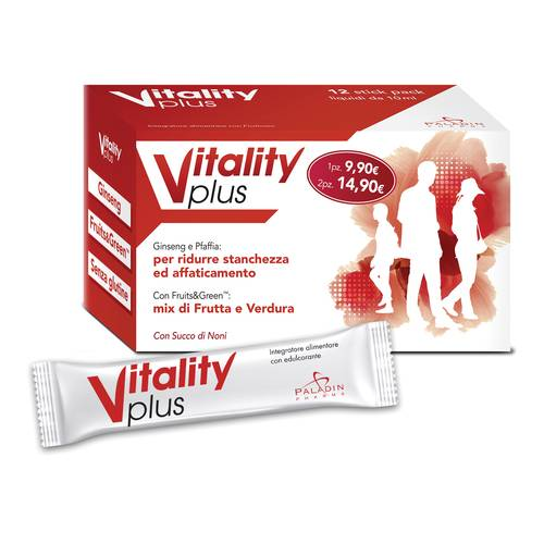 VITALITY PLUS 12STICK PACK