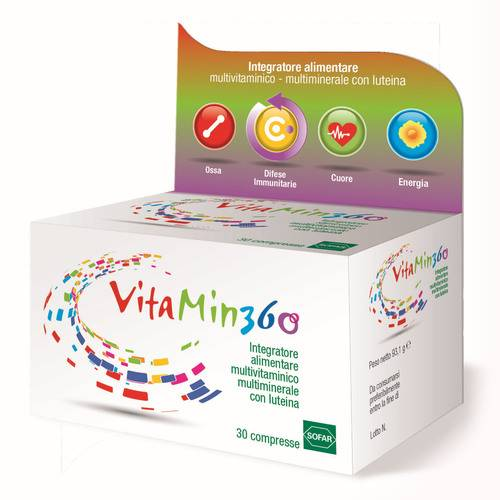 VITAMIN 360 MULTIVITAM 30CPR