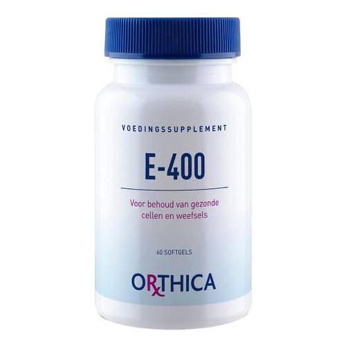 VITAMINA E 400 ORTHICA