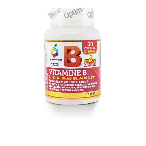VITAMINE B COMPL 60CPR COLOURS