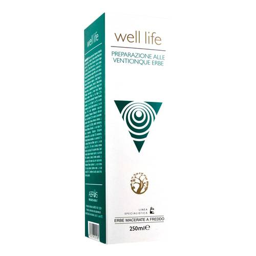 WELL LIFE ABR 250 ml 25 erbe