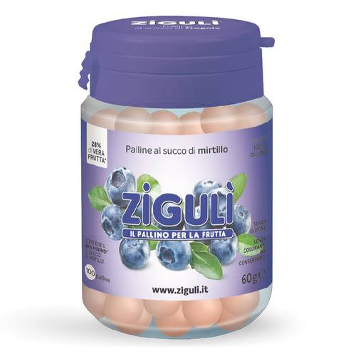 ZIGULI MIRTILLO 100PALLINE 60G