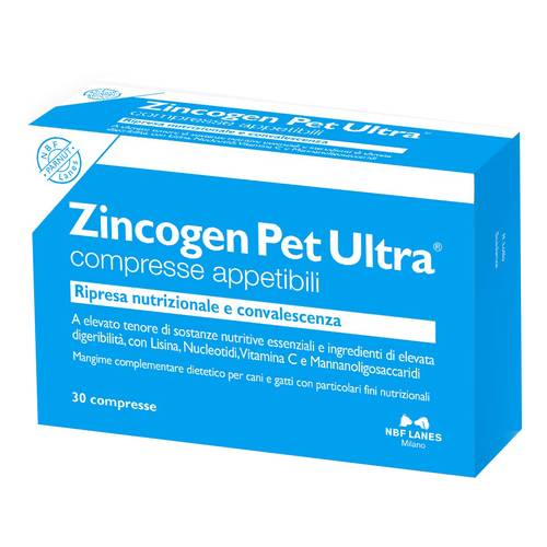 ZINCOGEN PET ULTRA 30CPR